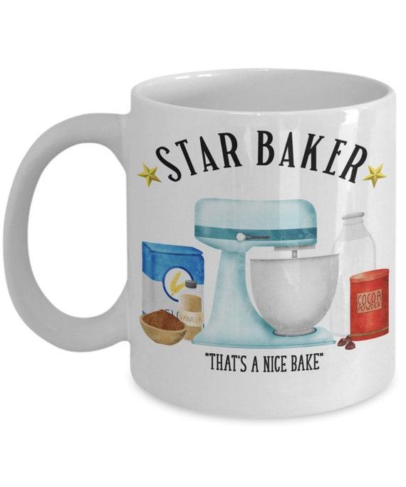 Star Baker Mug for Mom Mothers Day Gift for Baker Star Baker Gifts for Men Baking Mug British Bake Off Gbbo Mug Foodie Gift for Women