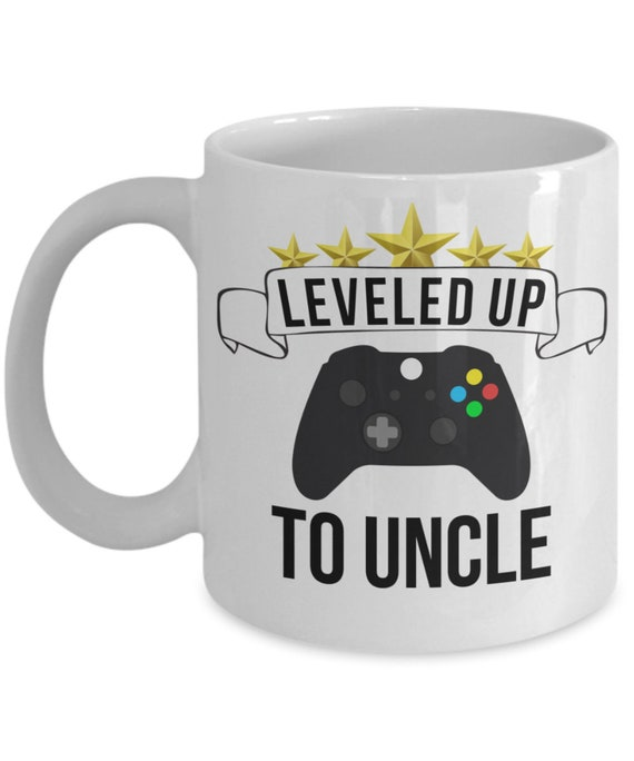 Uncle Mug Pregnancy Announcement Gift for Brother Promoted To Uncle Gifts for New Uncle Gamer Uncle Gift for Uncle Announcement Mug for Men