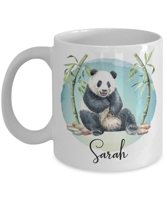 Panda Mug Gift for Daughter Custom Coffee Mug Panda Gift for Girl or Boy Christmas Gift for Kids Panda Lover Gift for Her Gift for Him