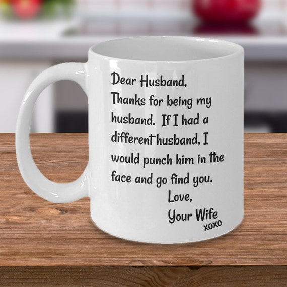 BEST SELLER: Husband Mug Gift For Husband Face Punch Mug