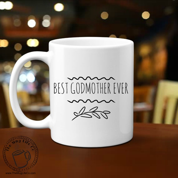 Godmother Mug for Women Gifts for Godmother Gift for Her Mugs with Sayings Motivational Mugs Thank You Gifts for Godparent Mug for Her Tea