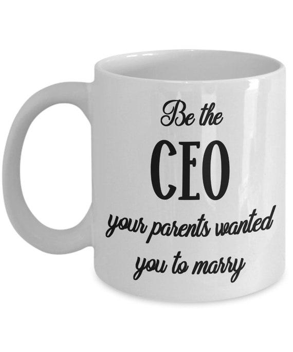 Ceo Mug Graduation Gift For Daughter Future Girl Boss Lady Business Woman Entrepreneur Gift For Her Women Empowerment Large Mug Best Friend