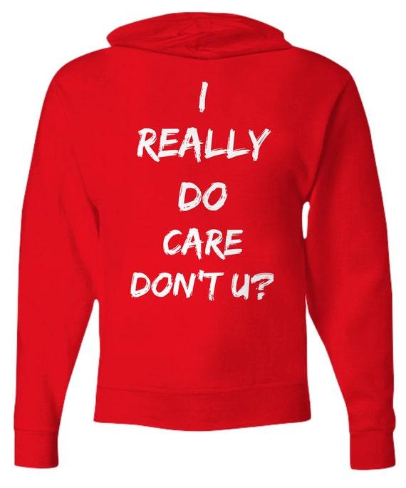 Melania Trump Jacket I Really Do Care Do U Hoodie For Men Anti-Trump Hooded Sweatshirt Trendy Womens Clothing Immigration Zipper Hoodie