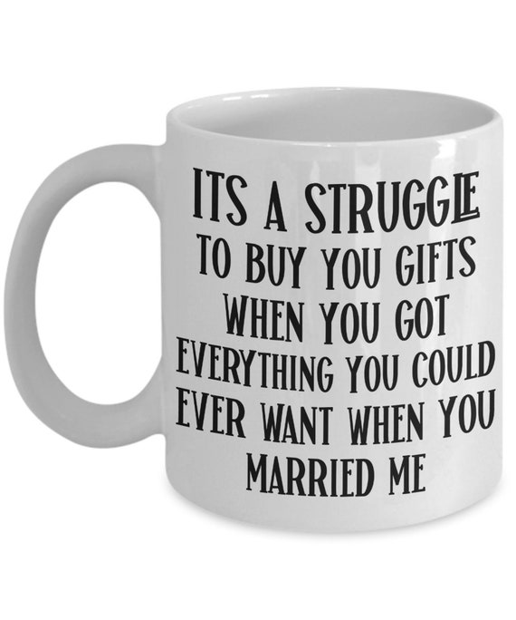 Wife Mug from Husband Funny Anniversary Gift for Her Valentines Day Gift for Wife Gifts Mothers Day Birthday Gift for Women Funny Coffee Mug