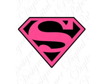 supergirl logo etsy rh etsy com superwoman logo template superwoman logo template