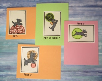 Puppy Flat cards
