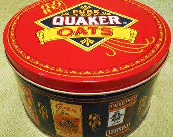 1983 Vintage  Pure Quaker Oats Limited Edition Can