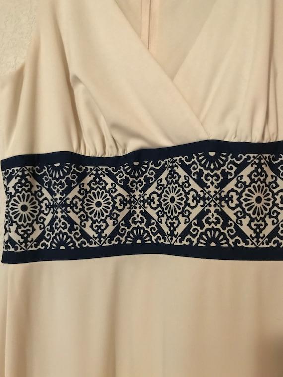 Alfred Shaheen Maxi Dress