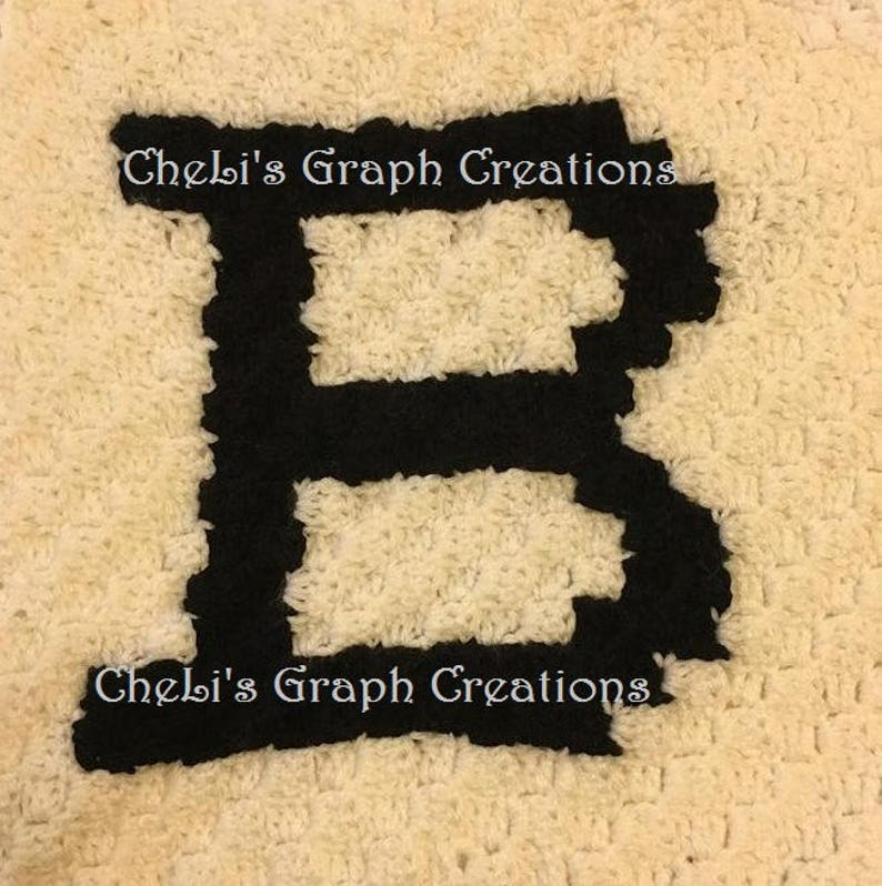 Monogrammed Pillow Letter B image 0