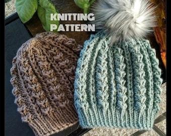 Knit Beanie Pattern 6c35a3c4e83