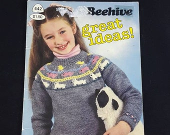 Beehive Sweater Knitting Pattern