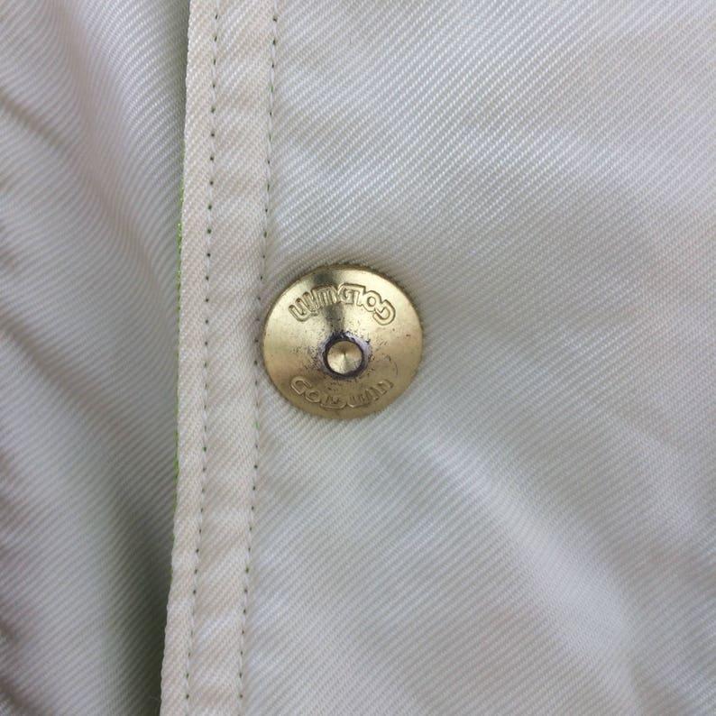 Vintage Goldwin Color Block Large Size Jacket Retro Rap Tees Hip Hop Fashion Swag