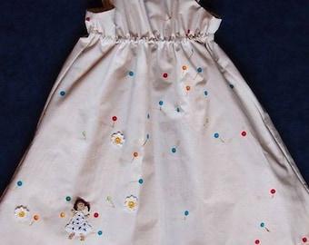 """Girl's Dress """"confetti"""""""