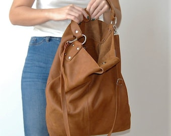 0f893fc97900 Leather Shopper Bag