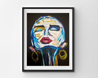 Contour - wall art prints - download - art prints - printable