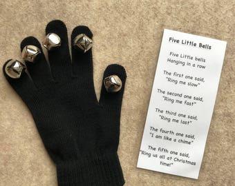 Five Little Bells glove