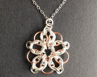 Celtic Star pendant and an 18 inch Sterling Silver chain
