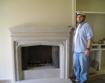 Stone Fireplace Indiana Limestone