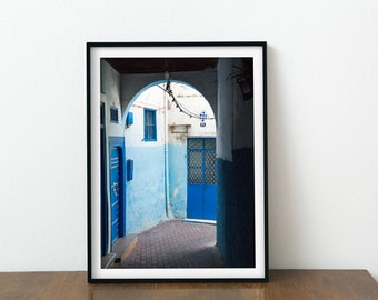 Available as art print Africa decor DIGITAL DOWNLOAD   /'Boy in Tangier lane/' Tangier Morocco photo Tangier house Oceanview house