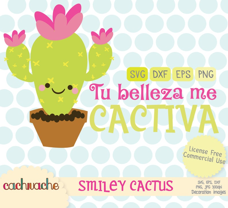 Cactus Svg File For Silhouette Cameo Cricut And Much More Etsy