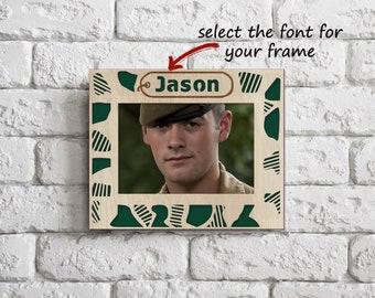 Soldier art, Wooden frame, Soldier decor, Soldier birthday, Soldier sign, Soldier field, Soldier love, Soldier life, Soldier mom, Handmade