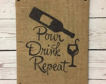Wine - Pour Dronk Repeat