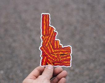 Idaho Bacon Sticker