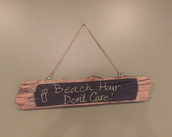 Driftwood Chalkboard Sign