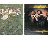 Lot of 2 Beegees main course children of the workd vinyl lp record with sleeves