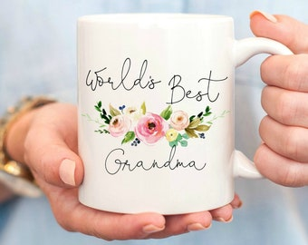 f9e704d322d Worlds Best Grandma, Grandma Mug, Gifts for Grandma, Grandma Coffee Mug, Grandmother  Gift, Coffee Mug, Nana Mug, worlds best nana, nana gift