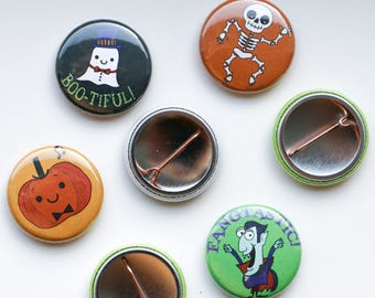 Halloween Incentive Buttons for Piano Students