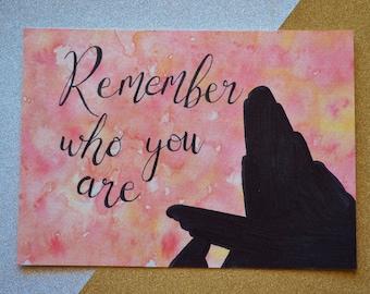 Lion King // Simba // Nala // Mufasa // Rafiki // Remember Who You Are // Disney // watercolor