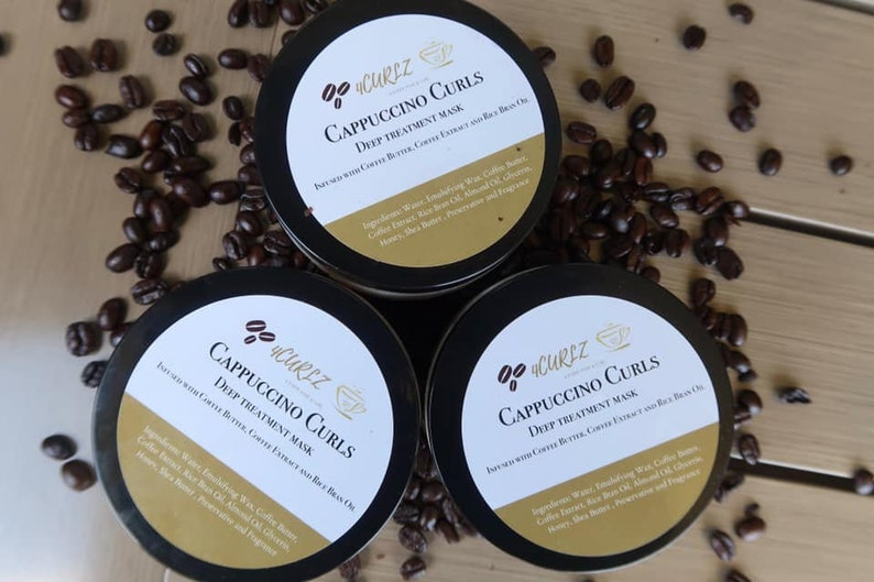 Cappuccino Curls  Deep Conditioner for Natural hair and Curls image 0