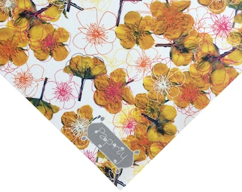 Buttercupped Floral Wrapping Paper