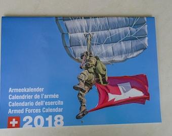 Swiss Military Calendar 2018