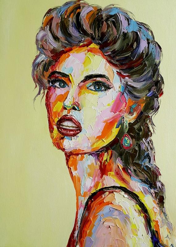 Portrait Oil Paint Artists