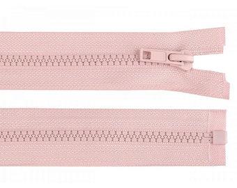 Reißverschluss altrosa - teilbar für Jacken - verschiedene Längen