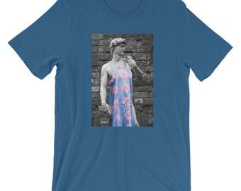 Phish Fishman Donut Dress on David Statue YEM Phish Shirt
