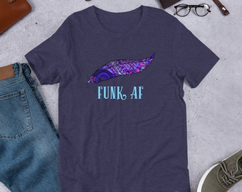 PPPP Shirt FUNK AF Pigeons Playing Ping Pong Short-Sleeve Unisex T-Shirt