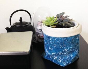 Fabric caught basket
