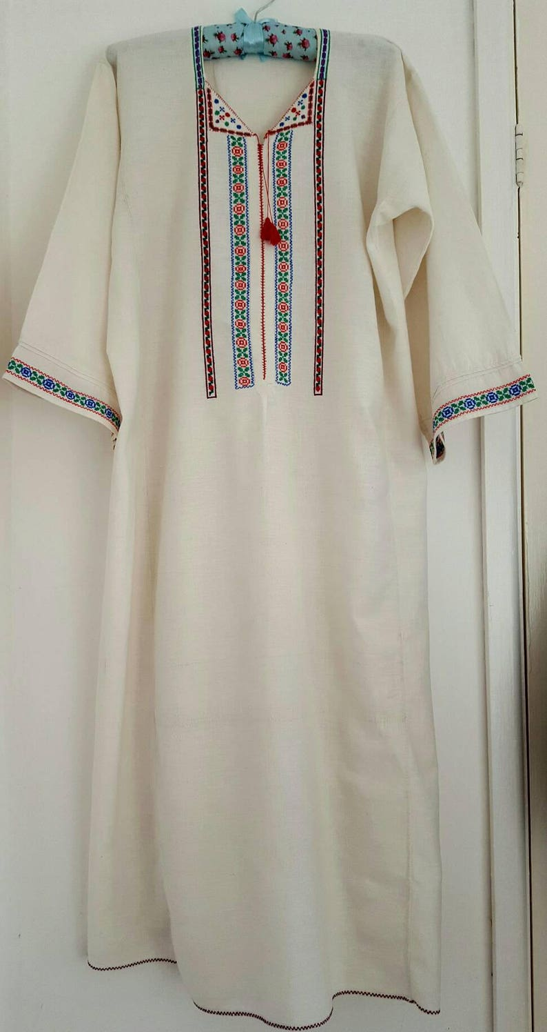 c264c67a89 Romanian traditional nightgown vintage antique nightgown
