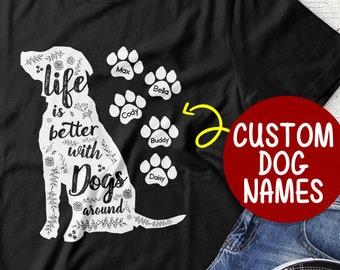 65bbdd5e221e Dog Mama Crazy Dog Lady Rescue Dog Shirt Dog Rescue Shirt Rescue Animal Dog  Mom T-shirt Fur Mama Shirt Rescued Dog Owner Dog Name Shirt