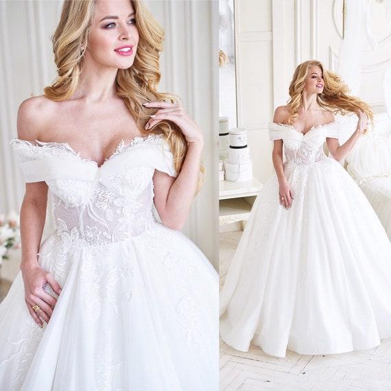 Princess Wedding Dress 2020 Sparkly Ballgown Wedding Dress Etsy