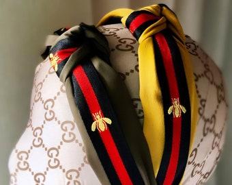 425fd70ca623 Gucci Inspired Bee Headband