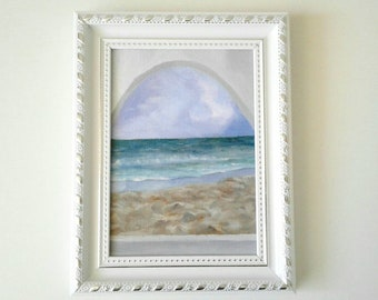 Original painting Calm Seascape - beautiful views series