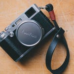 Leather wrist strap for mirrorless or Reflex cameras-free shipping shoulder strap for hand leather strap neck camera