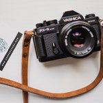 Leather camera strap personalized reflex mirrorless custom - shoulder neck strap handmade colored color black belt camerastrap cords colors