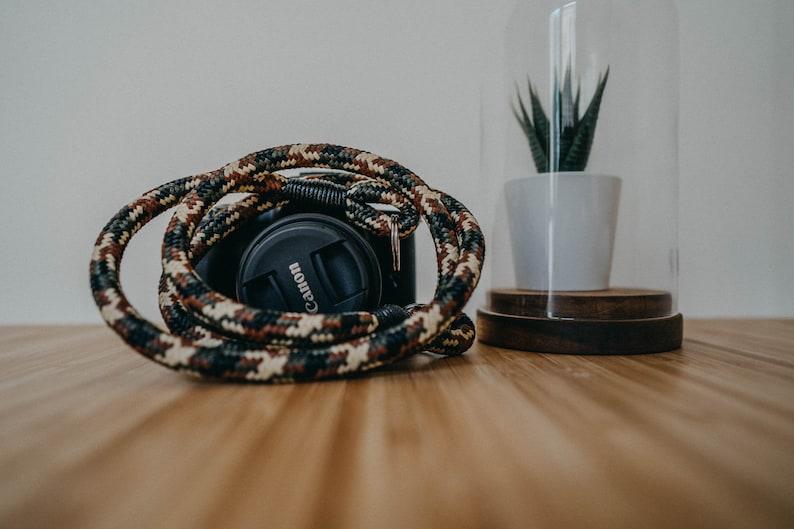 Shoulder strap in rope for Mirrorless Reflex cameras  Neck image 0
