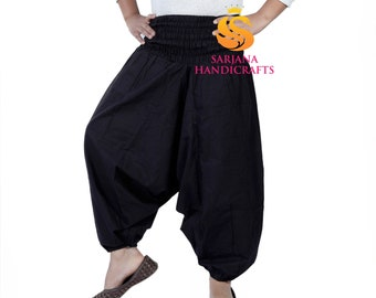 Bohotusk Toddler Harem Trousers Elasticated Waist Two Sizes for Young Children Training Pants