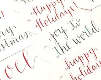 Holiday Tags - Set of 25